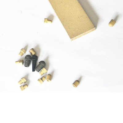 Conductive rubber tips