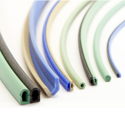 co-extruded fluorosilicone